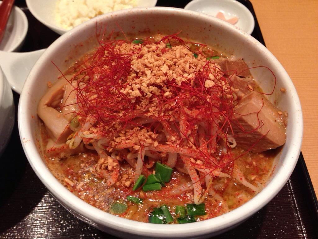 新潟濃厚味噌 弥彦の激辛味噌らぁ麺