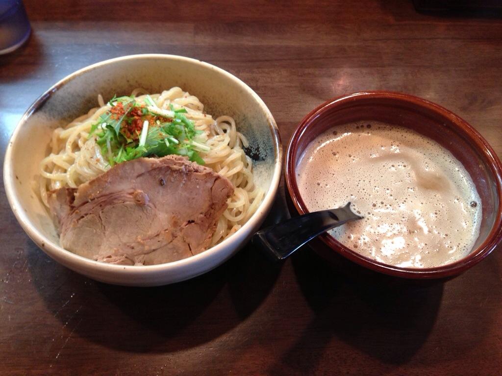 麺処 と市のつけ麺