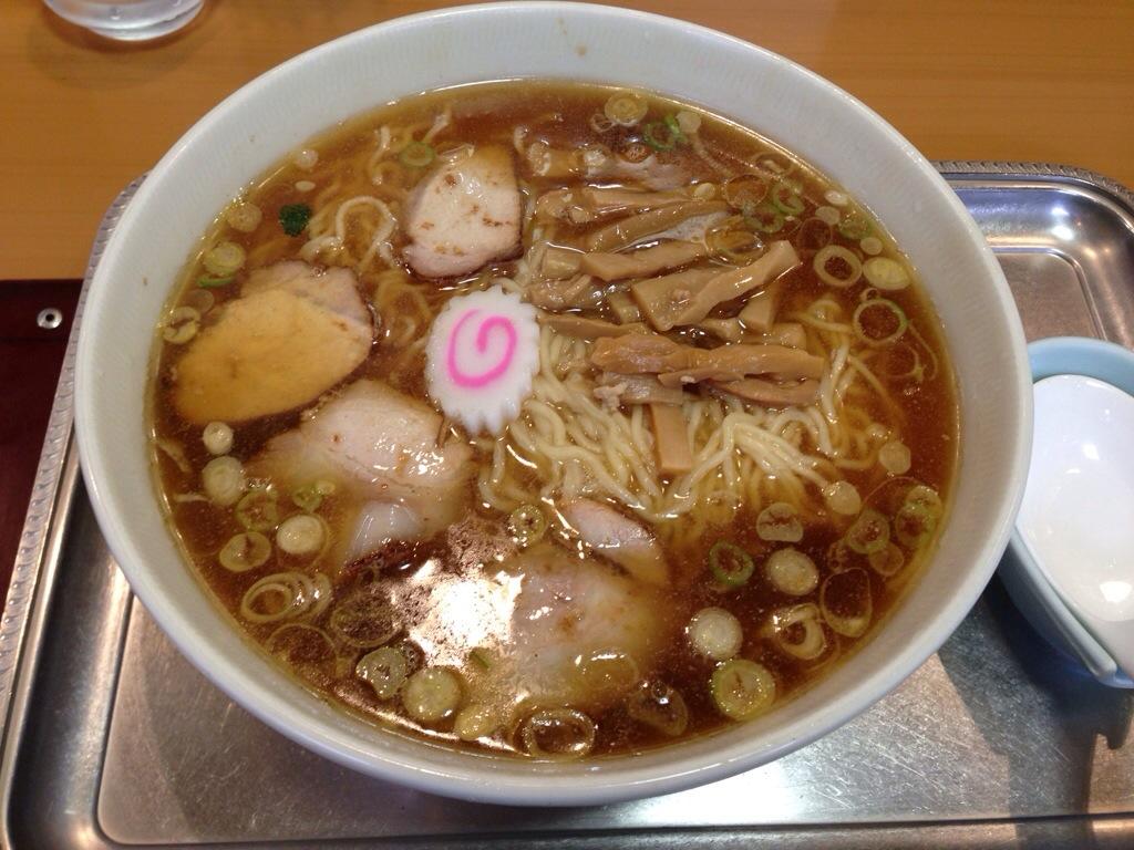 永福町大勝軒の中華麺