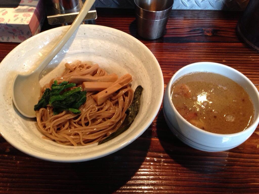 啜磨専科のザ・しおつけ麺
