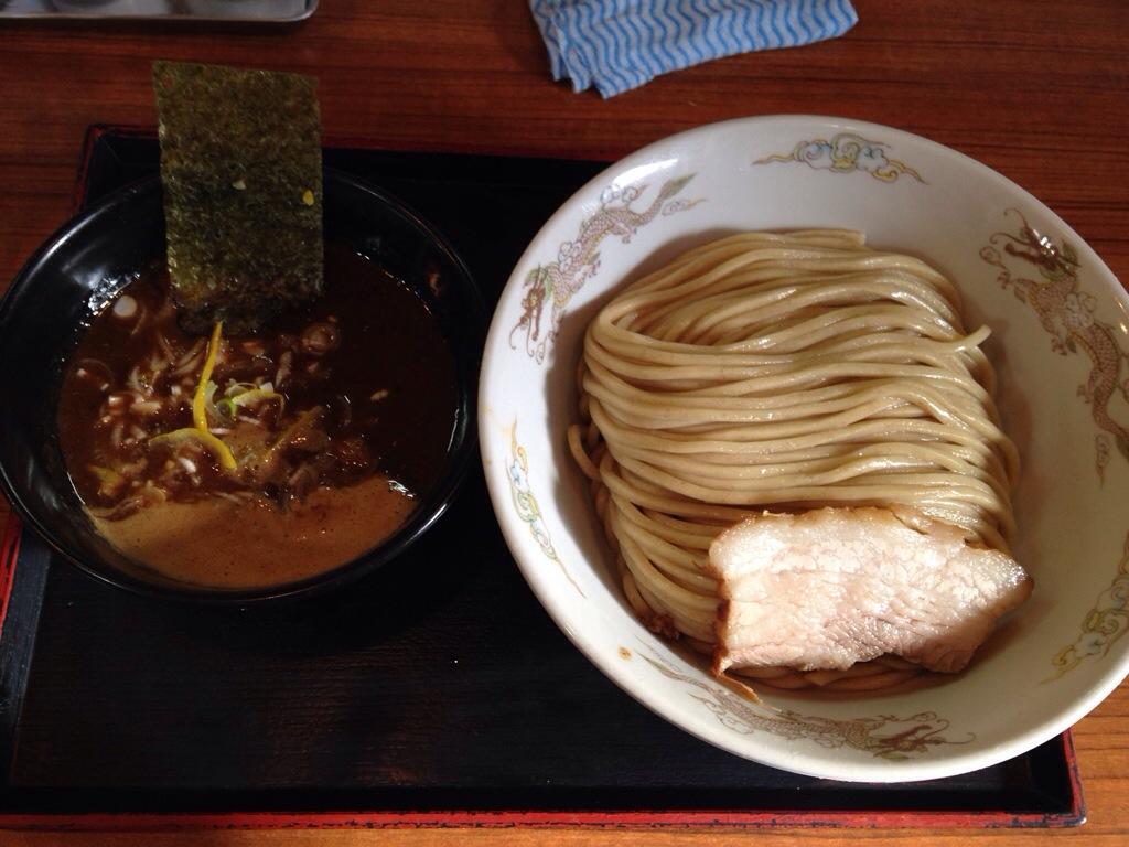 市川ウズマサのつけ麺