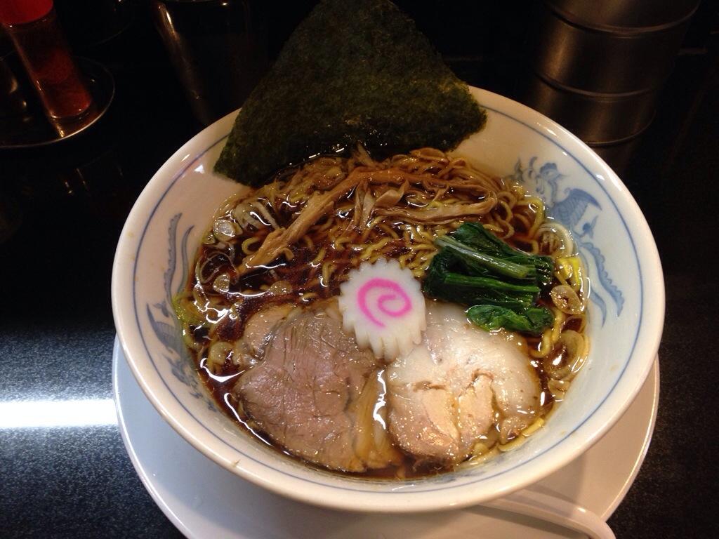 ぶたコングの新潟長岡醤油ラーメン