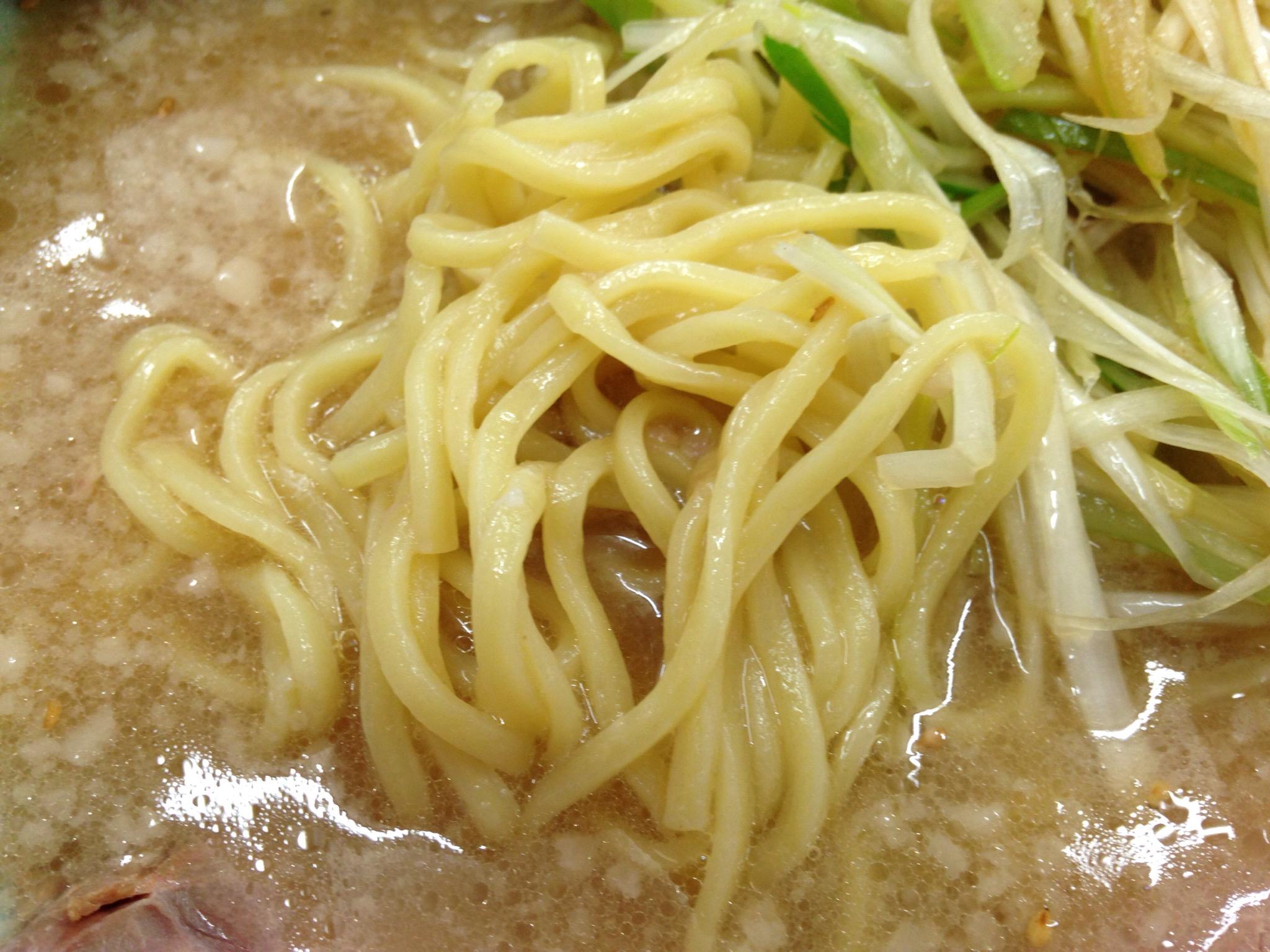 酒井製麺の太麺