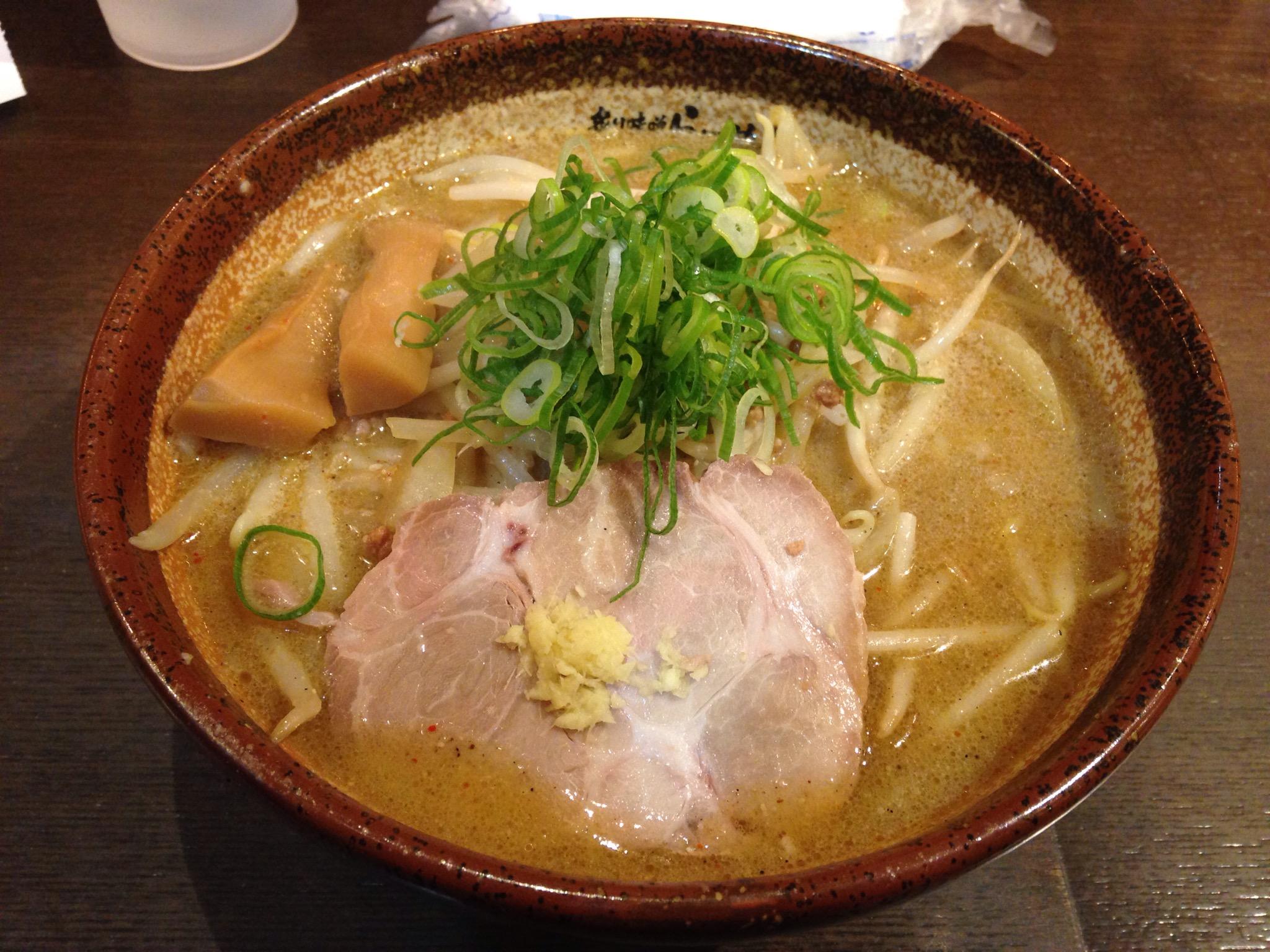 真武咲弥 渋谷店の炙り味噌らーめん