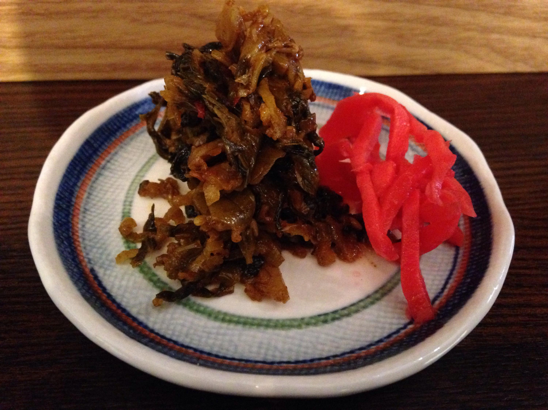 高菜&紅生姜