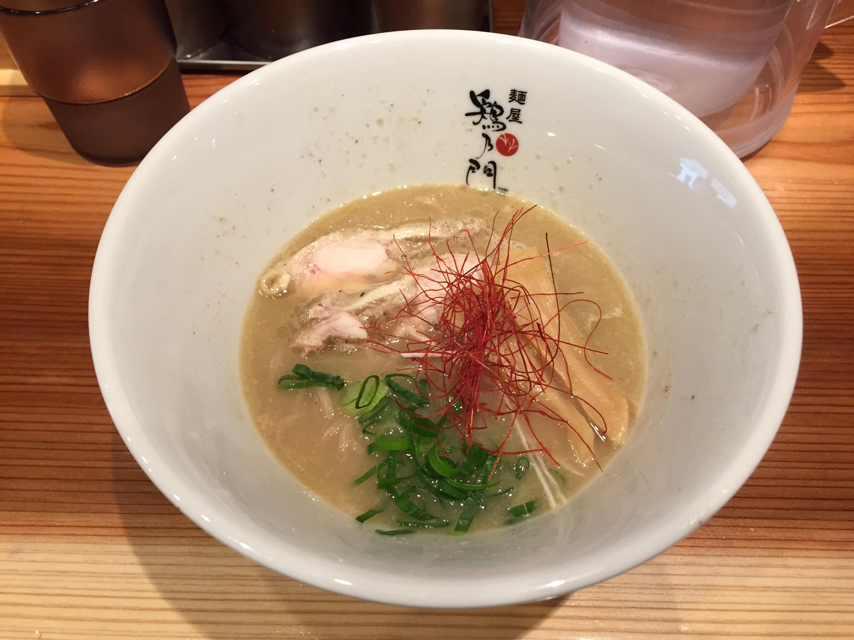 鶏乃門の鶏白湯ラーメン