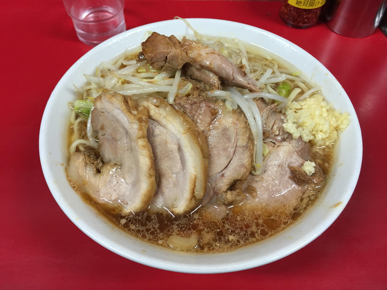 ラーメン二郎 西台駅前店の小豚ラーメン