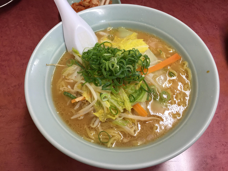 旭川ラーメン 柏木町店の野菜ラーメン