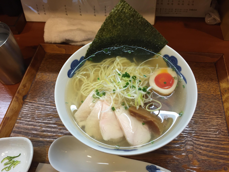 鶏そば(白醤油)