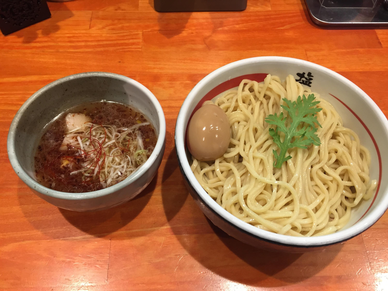 塩元帥 京田辺店の塩つけ麺