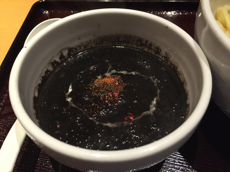 イカスミスープ