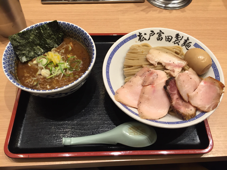 濃厚特製つけ麺