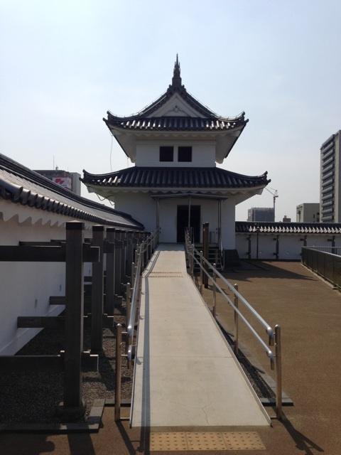 宇都宮城址公園の櫓