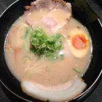 麺屋 風火 草津元店の塩とんこつラーメン