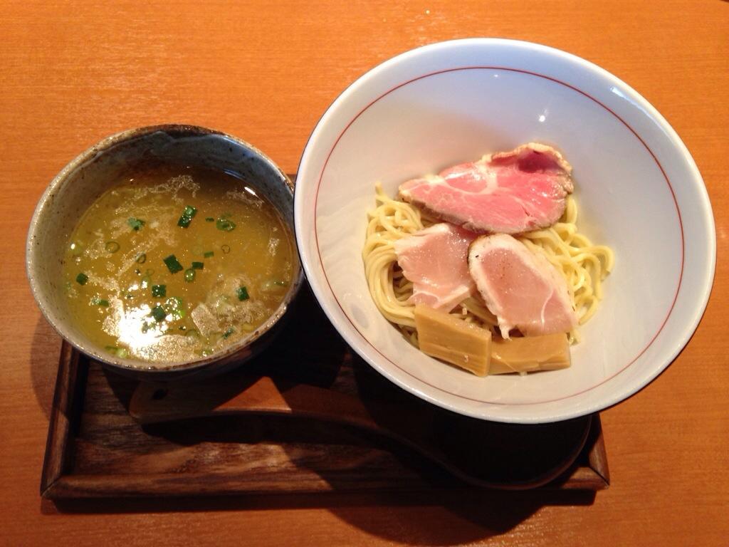 麺と心 7の元×JUNKの清湯鶏塩つけ麺+αの替玉!