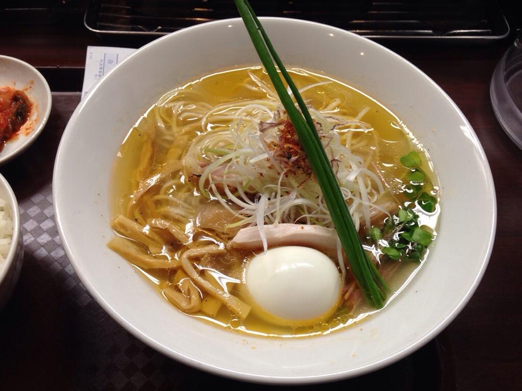 麺のようじ(旧 大阪拳)の塩そば
