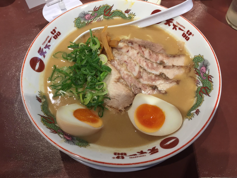 天下一品 高円寺店の味付煮卵豚トロチャーシュー大