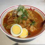 蒙古タンメン中本の五目味噌タンメン