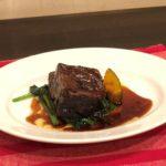 ギャロの肉のメイン料理