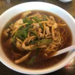 南京亭の肉絲麺